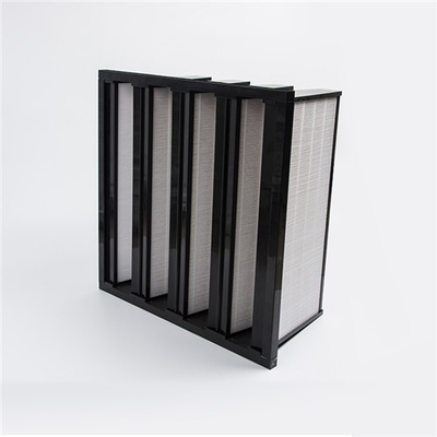 China HEPA Medium Efficiency Filter V Bank Air Filter Environment Friendly supplier