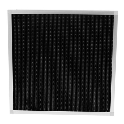 China Pleated Pre Activated Carbon Air Filter Large Air Flow For Odor Removal supplier