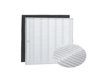 China Mini Pleat Industrial Hepa Filter H13 H14 Portable Air Filters For House supplier