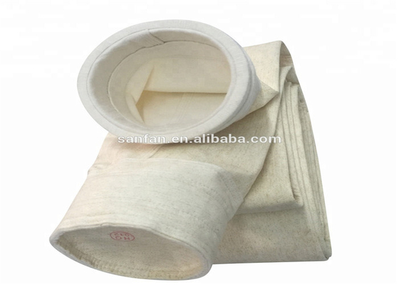 China 5 Micron Pocket Filter Bag Vacuum Cleaner Paper Type For Chemical Industry supplier