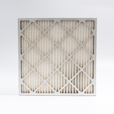 China Lightweight Hepa Pre Filter Paper Pleat Panel Home Furnace Air Filters factory
