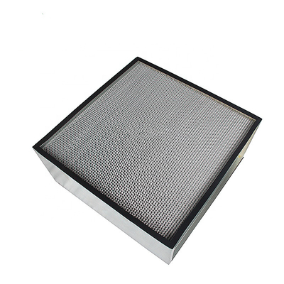 China Synthetic Fiber Pre Metal Mesh Air Filters High Flow Panel Filter Hepa Filter Media factory