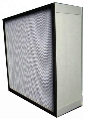China Light Weight High Temperature Air Filter Hepa Air Filter Heat Resistant factory