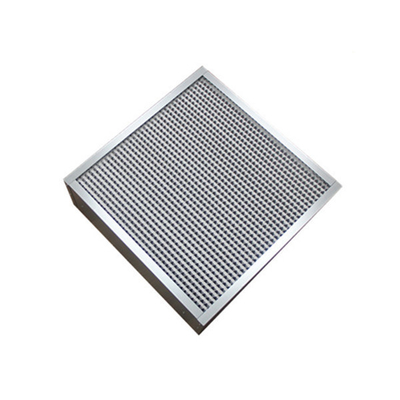H13 Deep Pleated High Temperature Air Filter Medium Filtration Grade