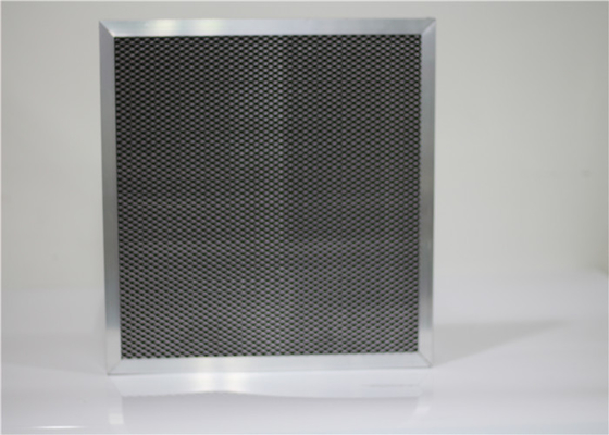 HEPA Activated Carbon Air Filter Professional Ss Frame For Removing Odor