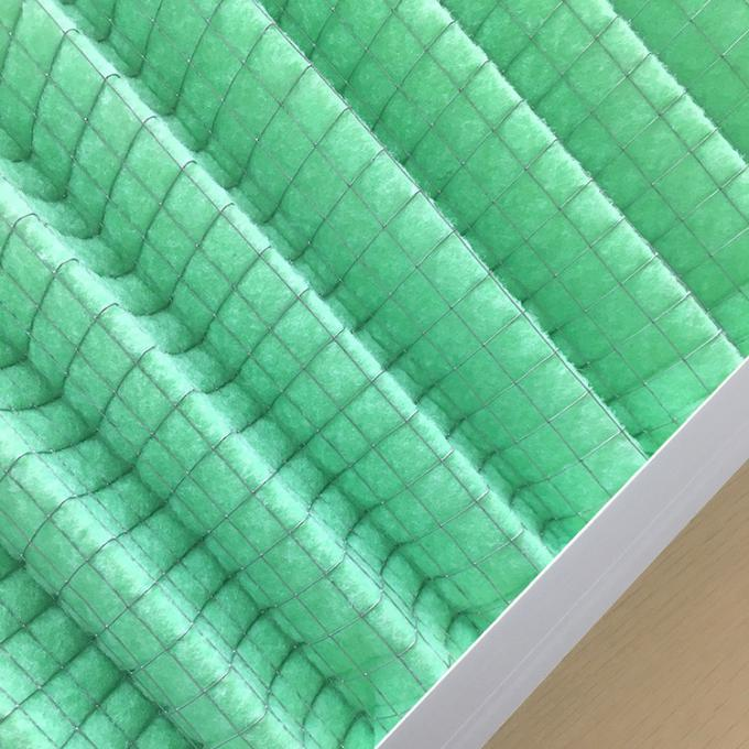 G2 G3 G4 Pleated Panel Filter Washable Home Air Filters Corrosion Resistance
