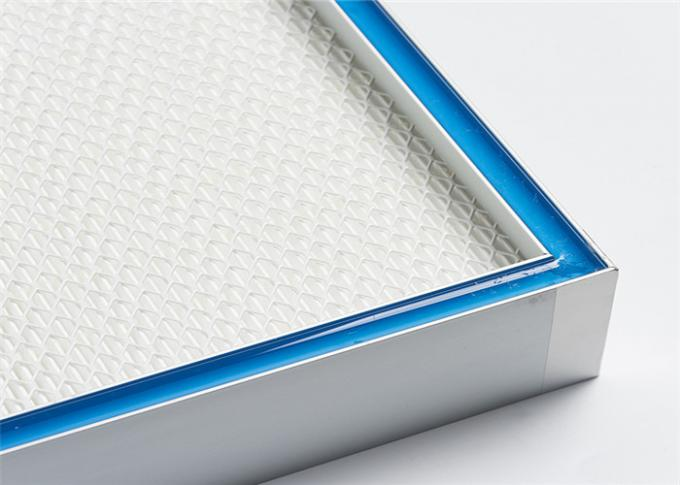 Panel Type High Efficiency Filter Hvac Hepa Filter For Cleanroom Systems