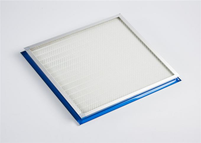 H13 Industrial Washable Hepa Air Filter Panel Type High Flow Hepa Filter