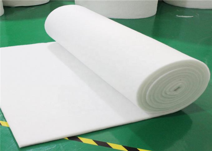 Floor Green White Paint Booth Filters Flexible For Spray Booth Filter Mat